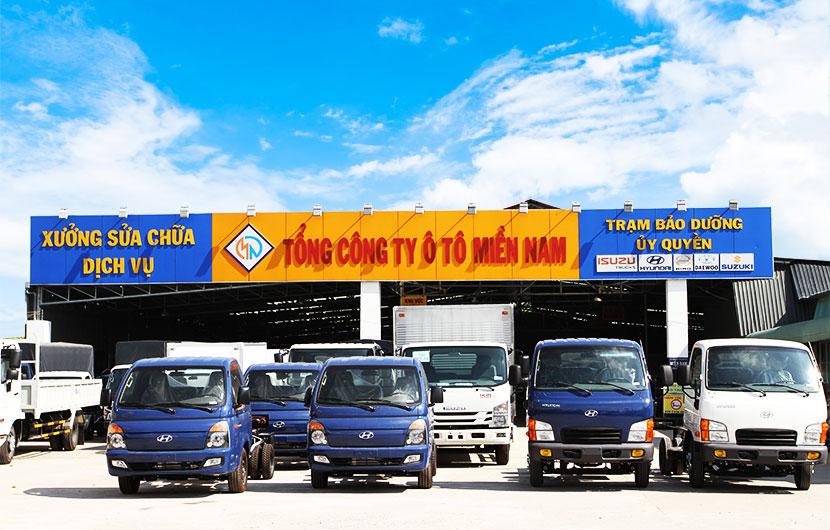 Đại Lý Bán Xe Hyundai Tải Giá Rẻ Uy Tín