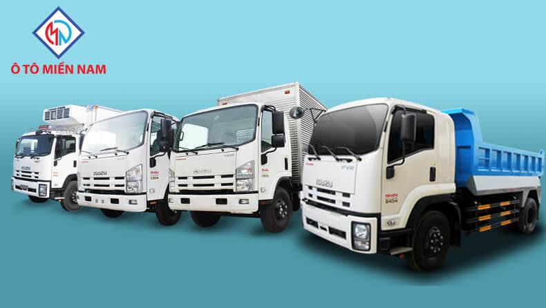 các mẫu xe tải Isuzu