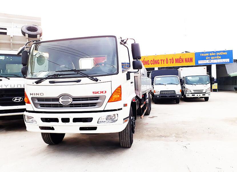 bảo trì xe tải Hino
