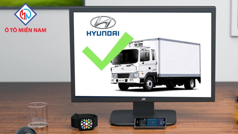 thương hiệu xe tải Hyundai
