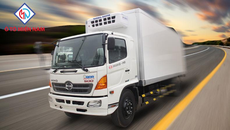 xe tải hino trên thị trường