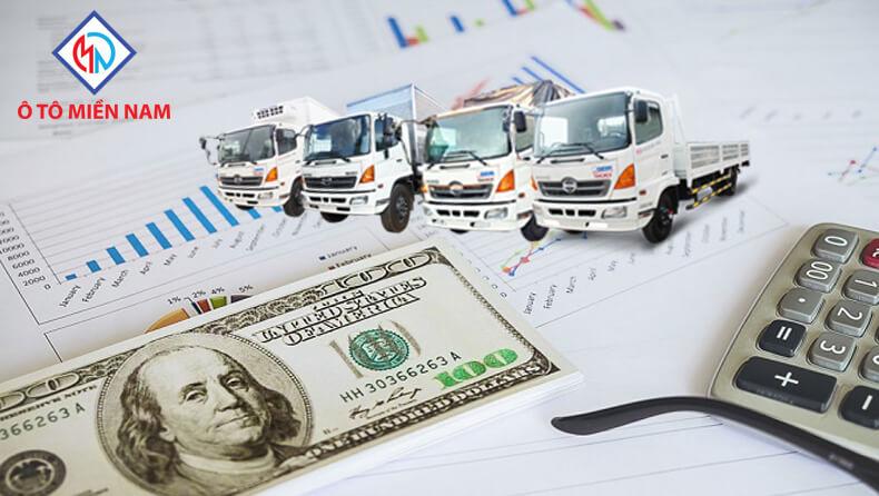 chi phí nuôi xe tải