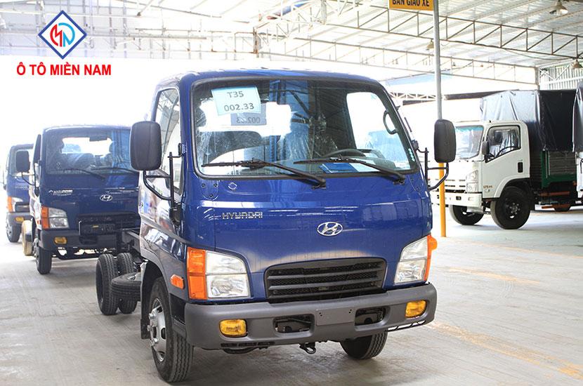 hiệu quả của xe tải Hyundai