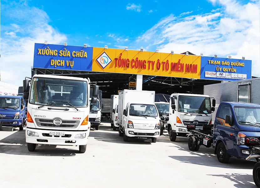 dòng ô tô tải Hino
