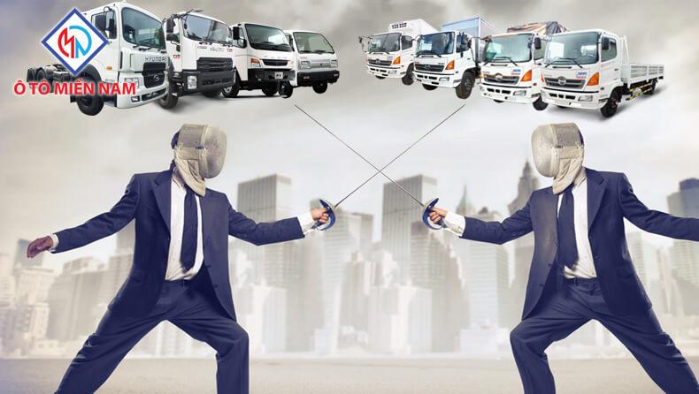 ông lớn ngành xe tải