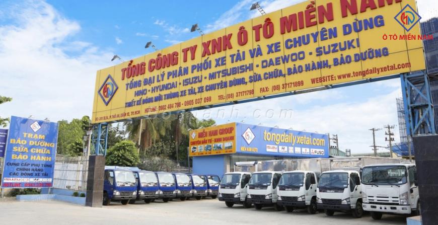 Chọn nơi bán xe tải mới uy tín, chất lượng.