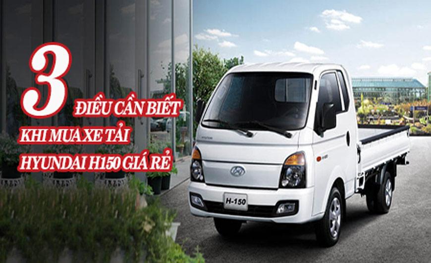 mua xe tải Hyundai h150 gia re